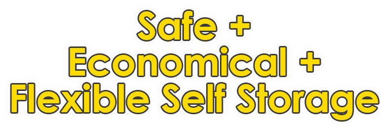 Safe Ecominical Flexible Self Storage